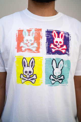 Tile Graphic Tee (White/Multi)