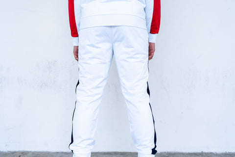 Lacoste Track Pants (White)
