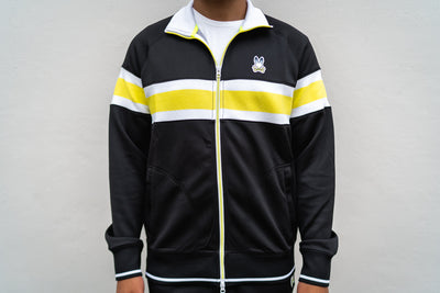 Psycho Bunny Clifton Track Jacket (Black)