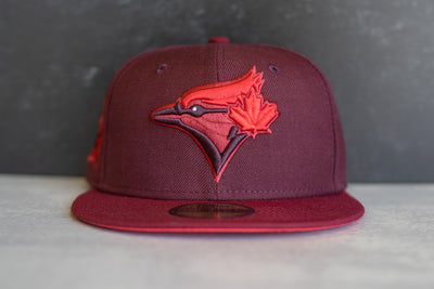 Toronto Blue Jays 40th Season Infrared UV (Maroon/Infrared)