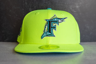 New Era Florida Marlins 10th Anniversary Teal UV (Volt/Teal)