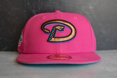 New Era Arizona Diamondbacks 2001 World Series Teal UV (Magenta/Teal)