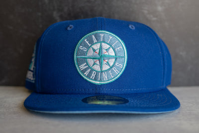 New Era Seattle Mariners 30th Anniversary Sky UV (Royal/Emerald)
