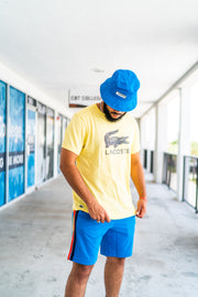 Lacoste Graphic Tee (Yellow)