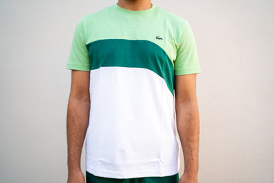 Lacoste Curve Shirt (Green/White)