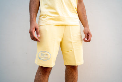 Lacoste Stretch Shorts (Yellow)