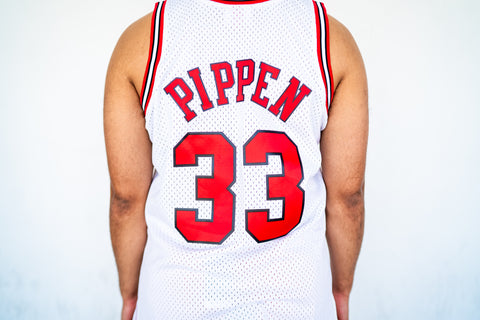 Swingman Jersey Chicago Bulls Scottie Pippen Home 1997