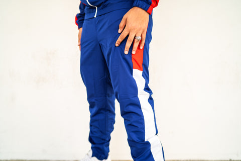 LACOSTE TRACKSUIT (Blue/Red)