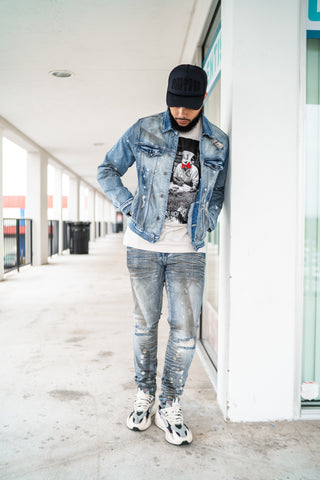 Atlantic Denim (Dirty Indigo)