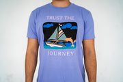 TRUST THE JOURNEY Tee (PURPLE)