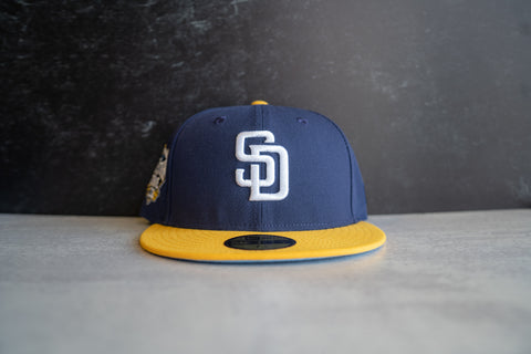 San Diego Padres ASG Fitted Cap (Navy/Yellow)
