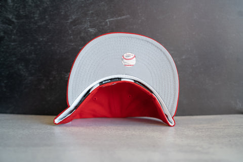 New York Yankees World Series Fitted Cap (Red)