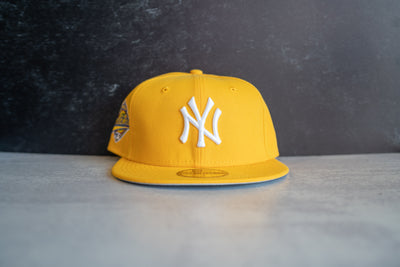 New York Yankees World Series Fitted Cap (Yellow)