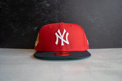 New York Yankees 1996 WS Patch Green UV (Red/Navy)