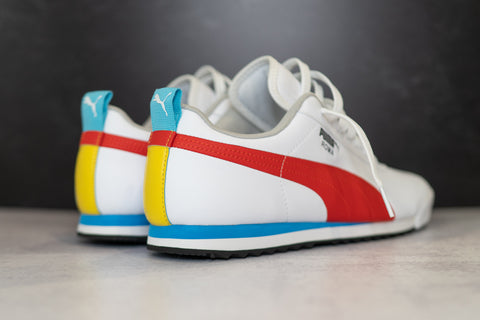 Puma Roma Game (White/Multi)