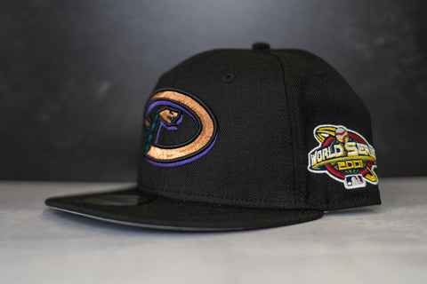 New Era Arizona Diamondbacks 2001 World Series Fitted Cap (Black/Multi)