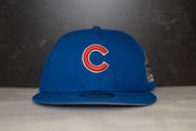 New Era Chicago Cubs Fitted Cap (Blue/Red)