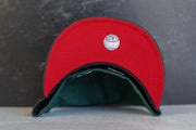 St Louis Cardinals 2011 World Series Fitted Cap Red UV (Forest/Red)