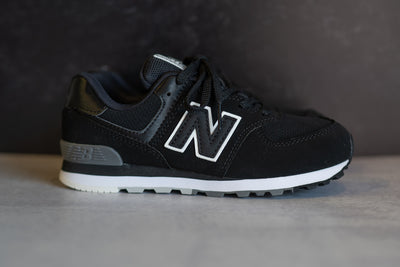 PRESCHOOL New Balance 574 (Core Black) - PC574SBW