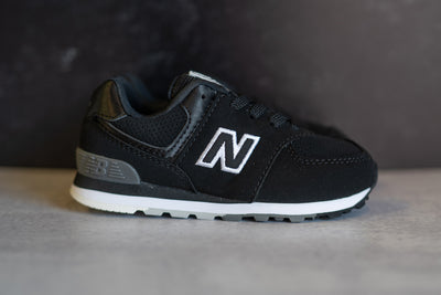 INFANTS New Balance 574 (Core Black) - IC574SBW