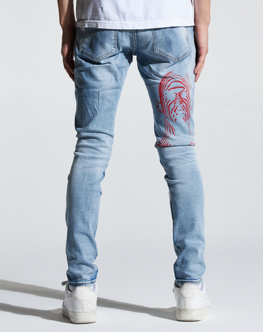 ATLANTIC DENIM (INDIGO WRITTEN)