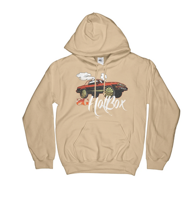 Sniper Gang Hot Box Cutlas Hoodie (Old Gold)