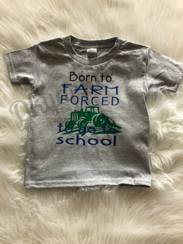 Born to farm forced to go to school - Ok Yankee Girl