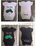 Future Farmer Onesie With 2 color options - Ok Yankee Girl