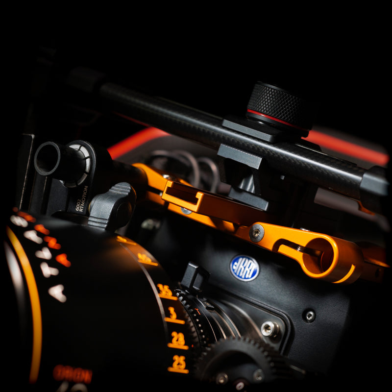 Camera Top Plate: Dual Rod Mount
