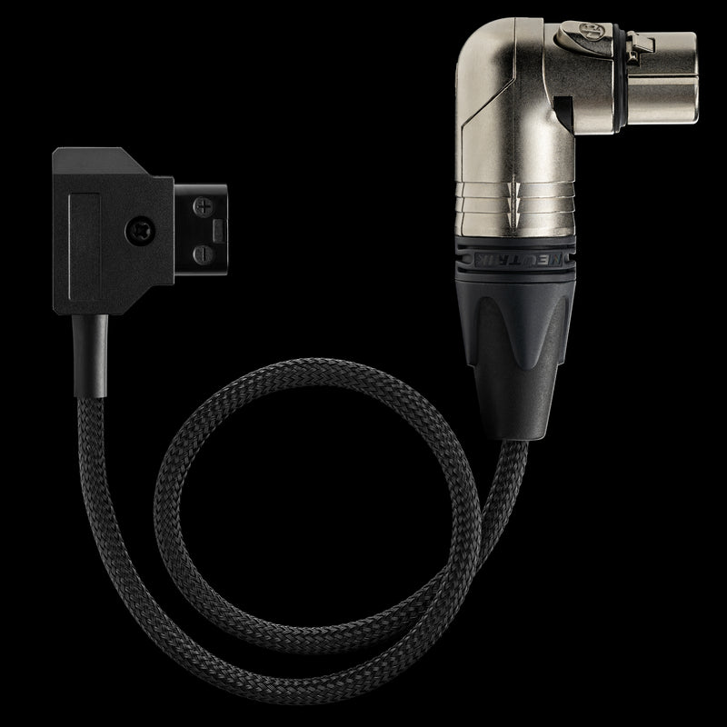 Power Cable ‣ MōVI Pro D-Tap to 4-Pin XLR Right Angle