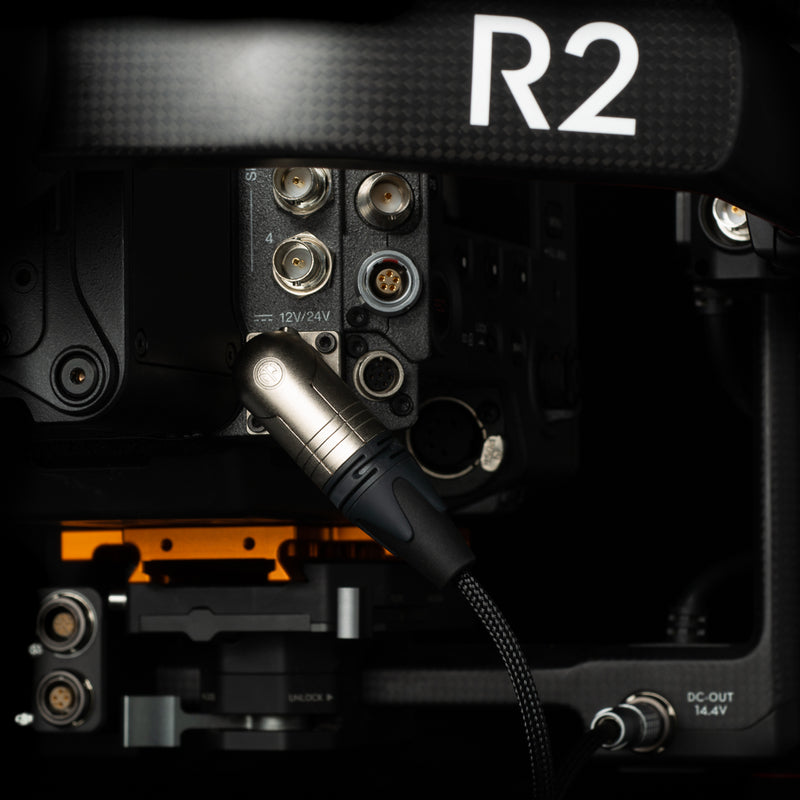 Power Cable ‣ Ronin 2 to Sony Venice / VariCam LT / Ursa (4-Pin XLR)