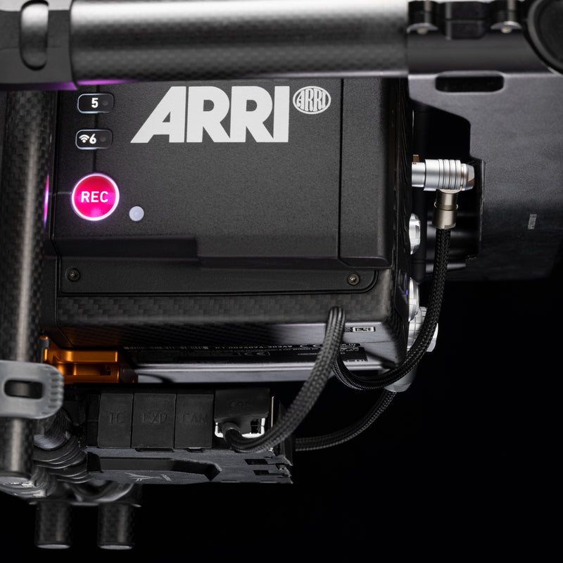 Run/Stop Cable ‣ MōVI Pro & XL to 3-Pin Fischer Right Angle