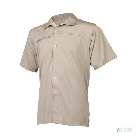 24-7 Series® MEN'S ECO TEC KNIT CAMP SHIRT-TRU-SPEC-S8 Products Group