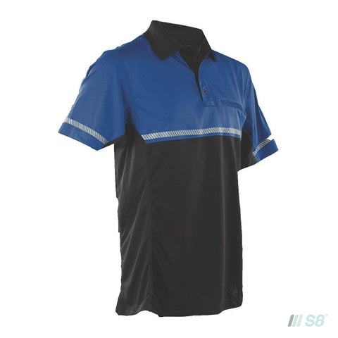 24-7 Series® MEN'S SHORT SLEEVE BIKE POLO-TRU-SPEC-S8 Products Group