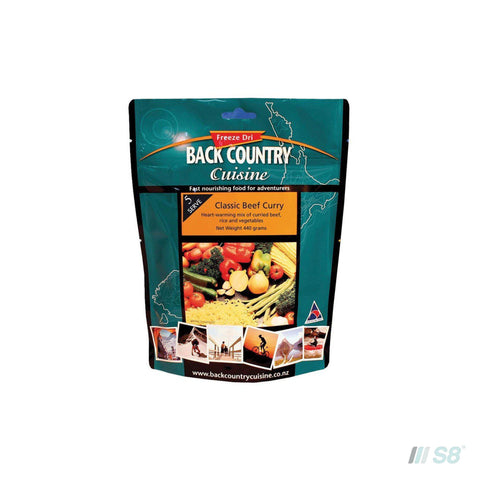 Back Country Cuisine Classic Beef Curry-BCC-S8 Products Group