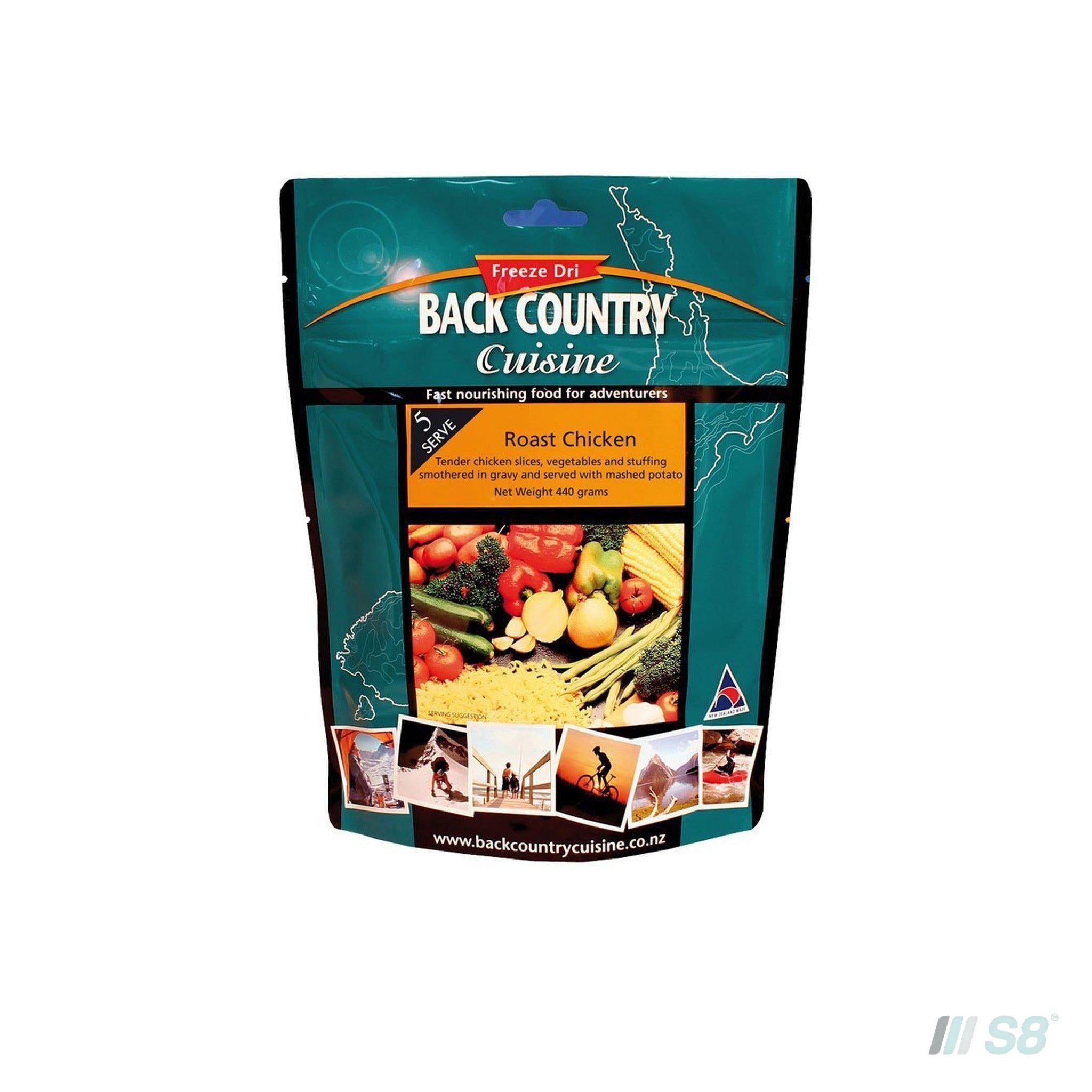 Back Country Cuisine Roast Chicken-BCC-S8 Products Group