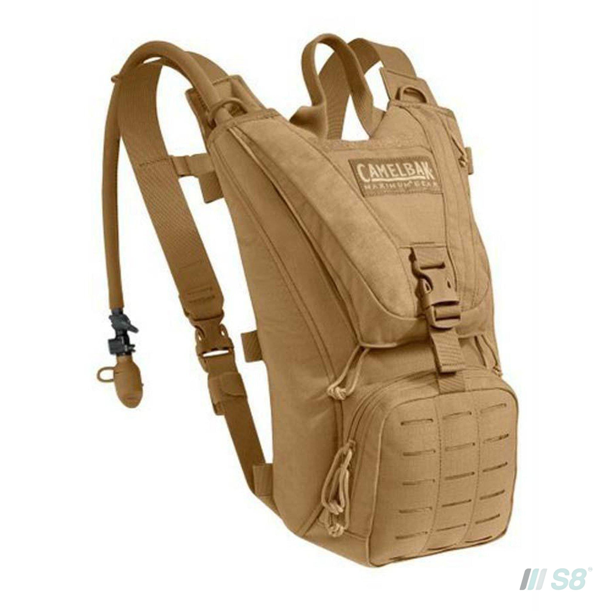 Camelbak Ambush 3L Military Hydration Backpack - Coyote-Camelbak-S8 Products Group