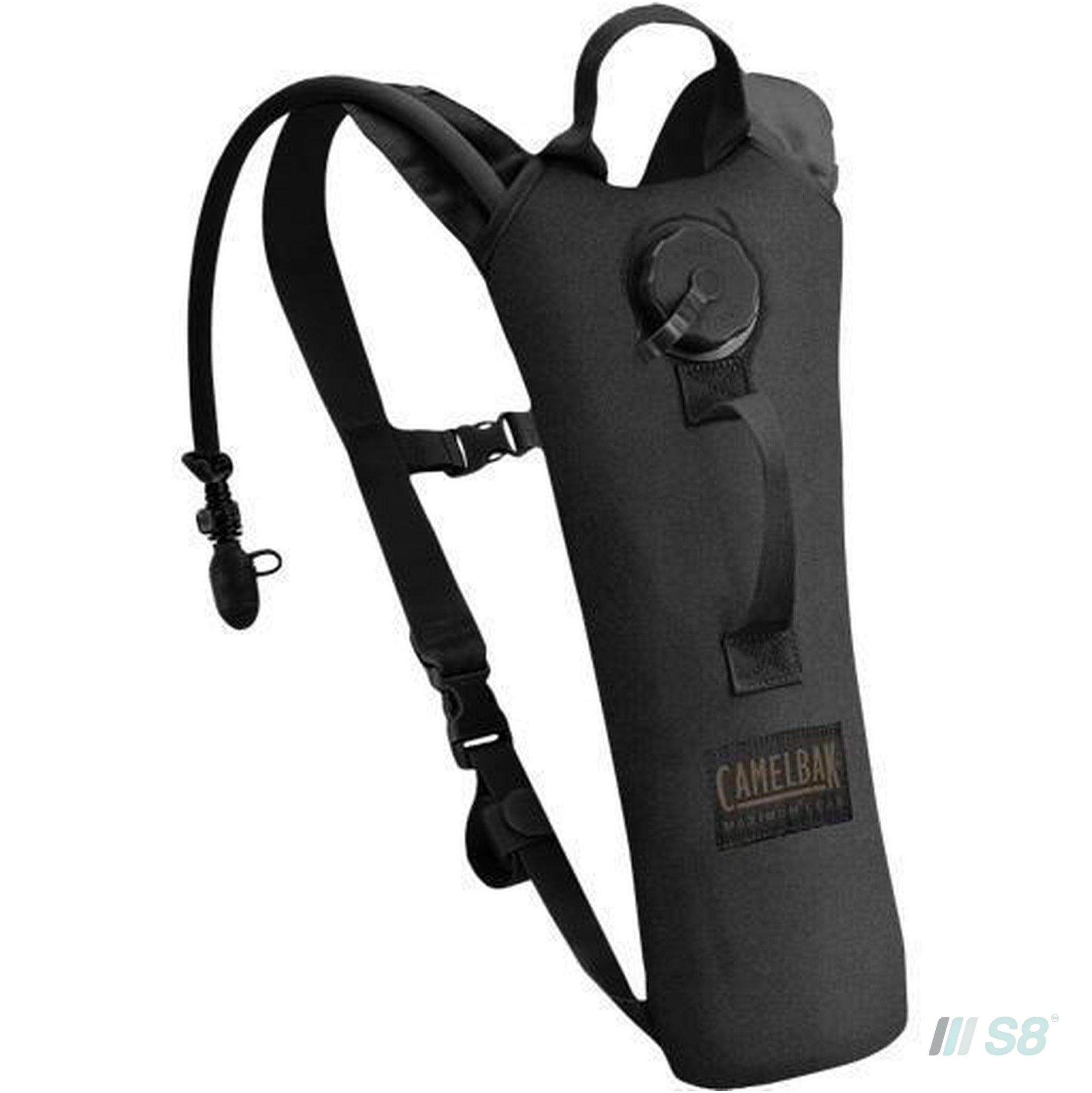 Camelbak Thermobak 2L Military Long Neck Hydration Pack - Black-Camelbak-S8 Products Group