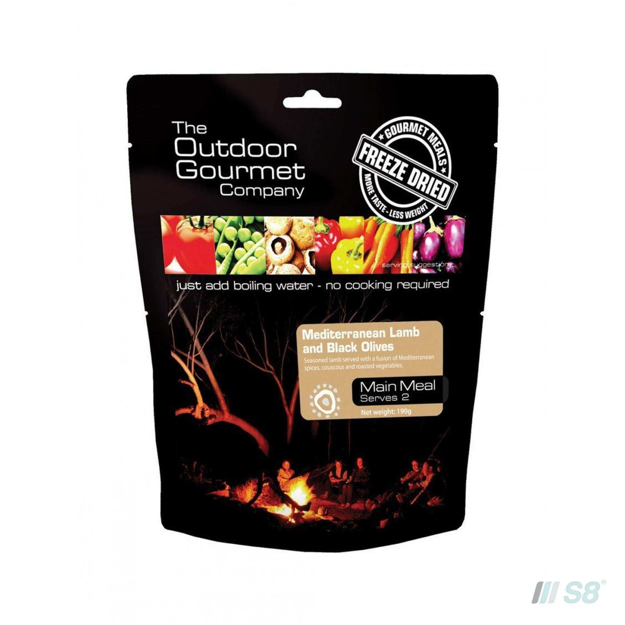 OGC MEDITERANEAN LAMB WITH BLACK OLIVES-Outdoor Gourmet Company-S8 Products Group