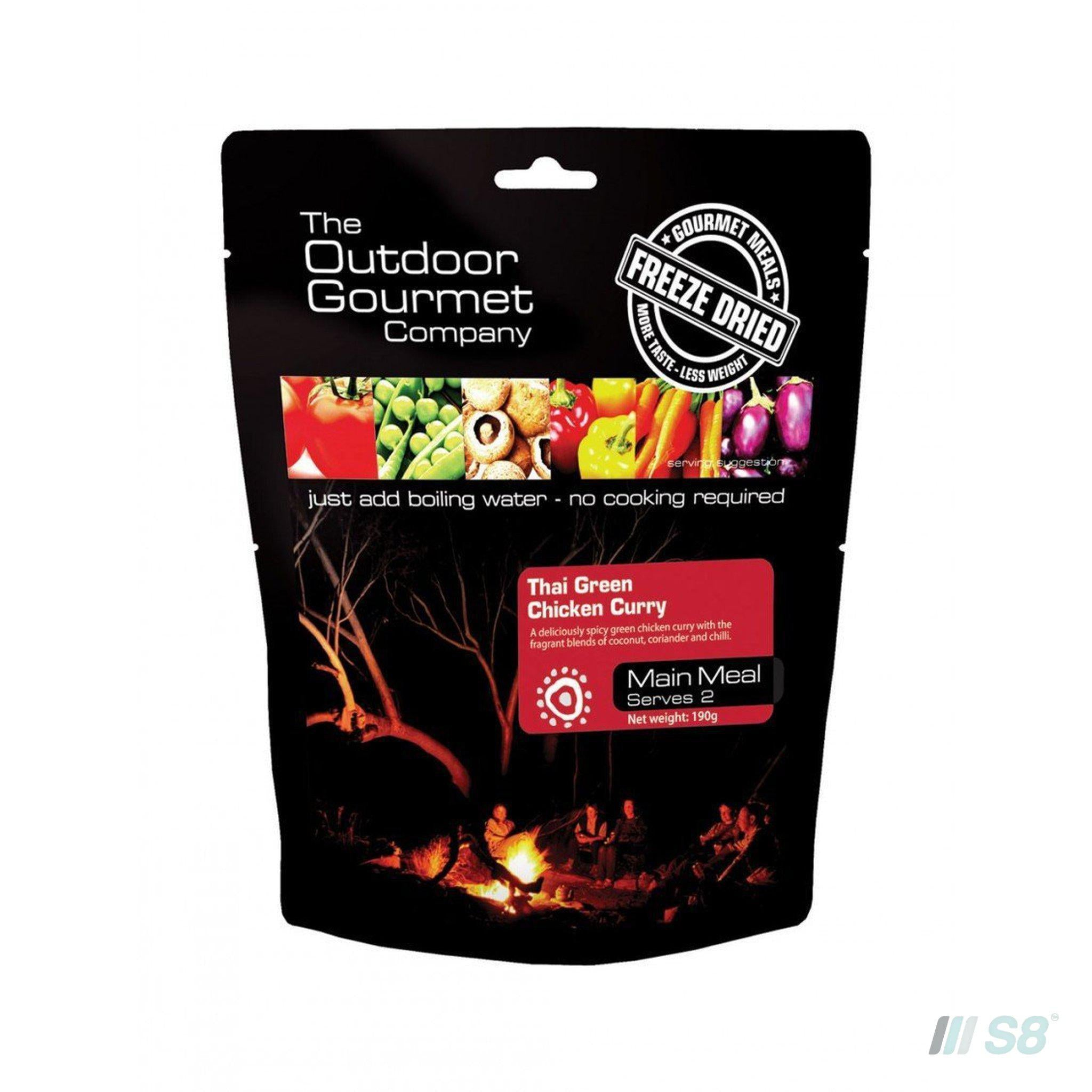 OGC THAI GREEN CHICKEN CURRY-Outdoor Gourmet Company-S8 Products Group