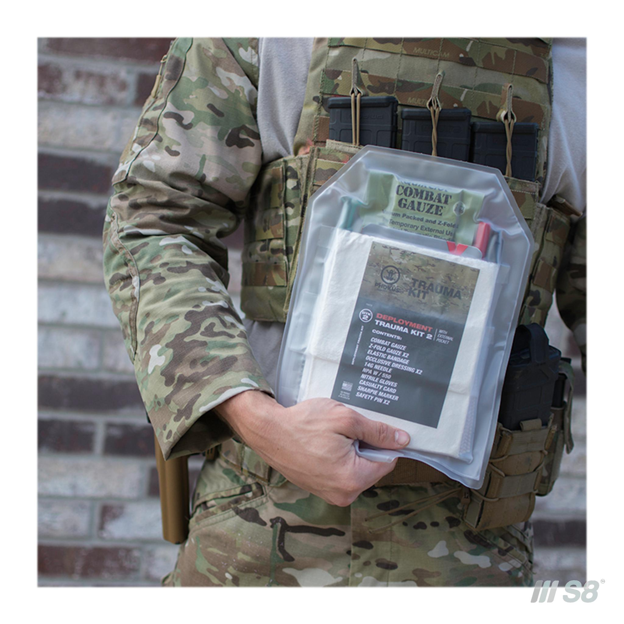 Phokus Research Group Deployment Trauma Kit 2-phokus-S8 Products Group