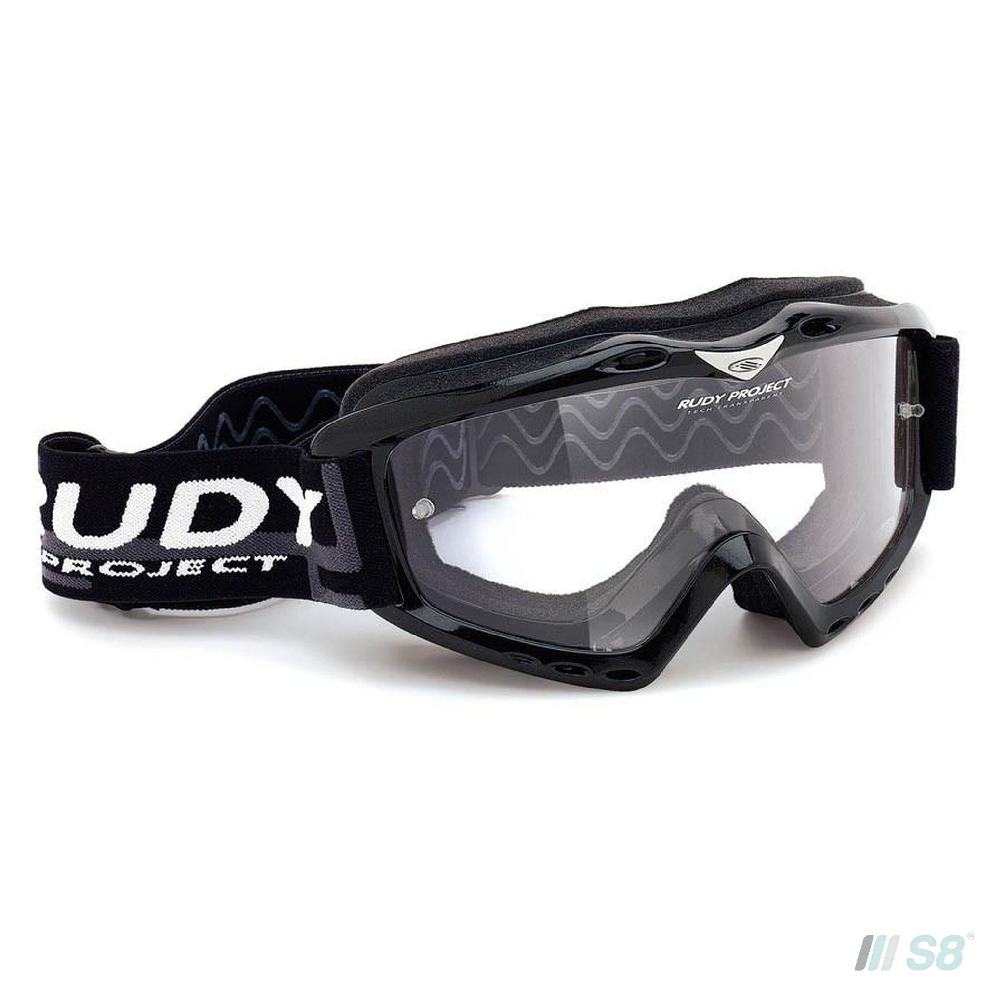 Rudy Project - Klonyx Motorcross / Black Gloss / Transparent lens-Rudy Project-S8 Products Group