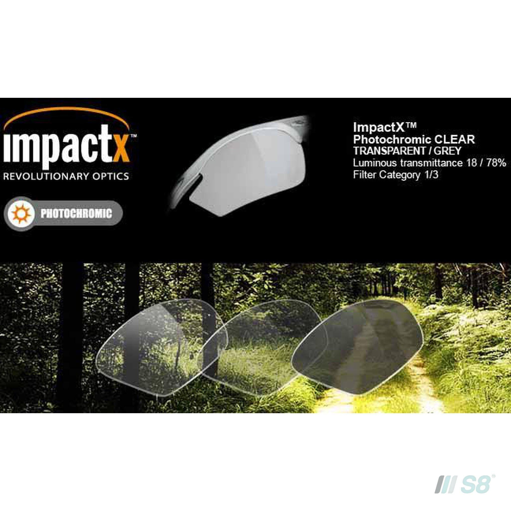 Rudy Project - Rydon Sunglasses, Impactx Photochromic Black lens (Z87.1+ Approved)-Rudy Project-S8 Products Group