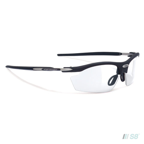 Rudy Project - Rydon Sunglasses / Matte Black / Impactx 2 Photochromic Black lens-Rudy Project-S8 Products Group