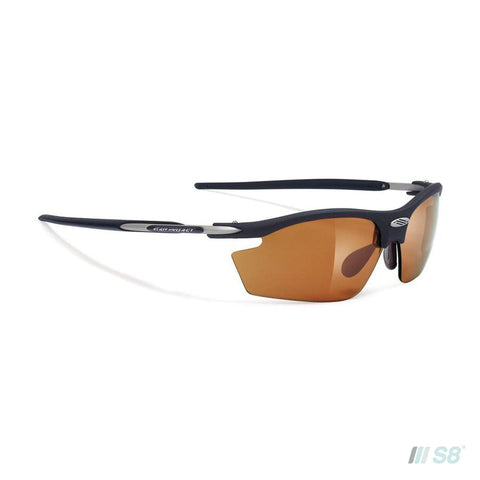 Rudy Project - Rydon Sunglasses / Matte Black / Impactx 2 Photochromic Laser Brown lens-Rudy Project-S8 Products Group