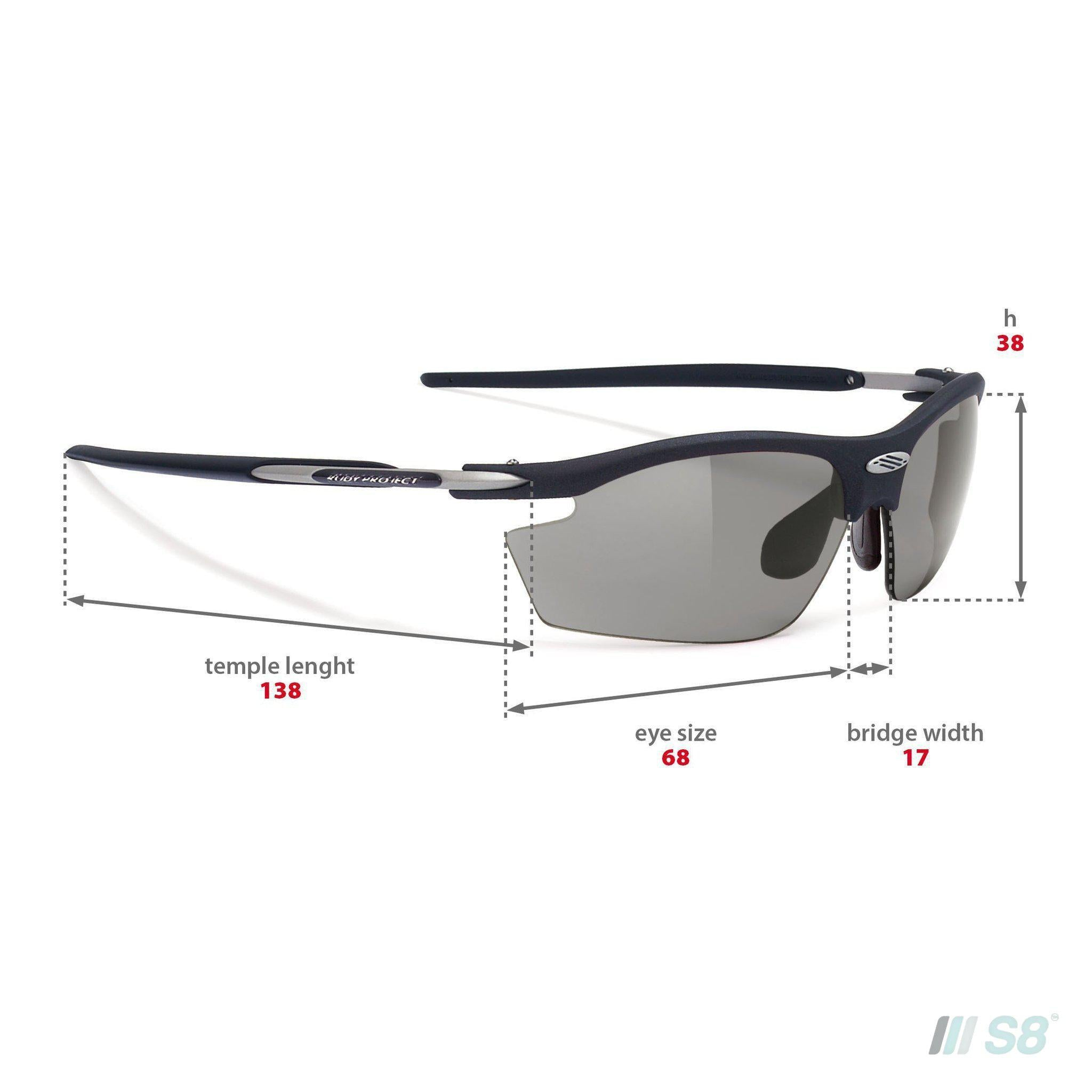 Rudy Project - Rydon Sunglasses / Matte Black / Polarised Photochromic Grey Lens-Rudy Project-S8 Products Group