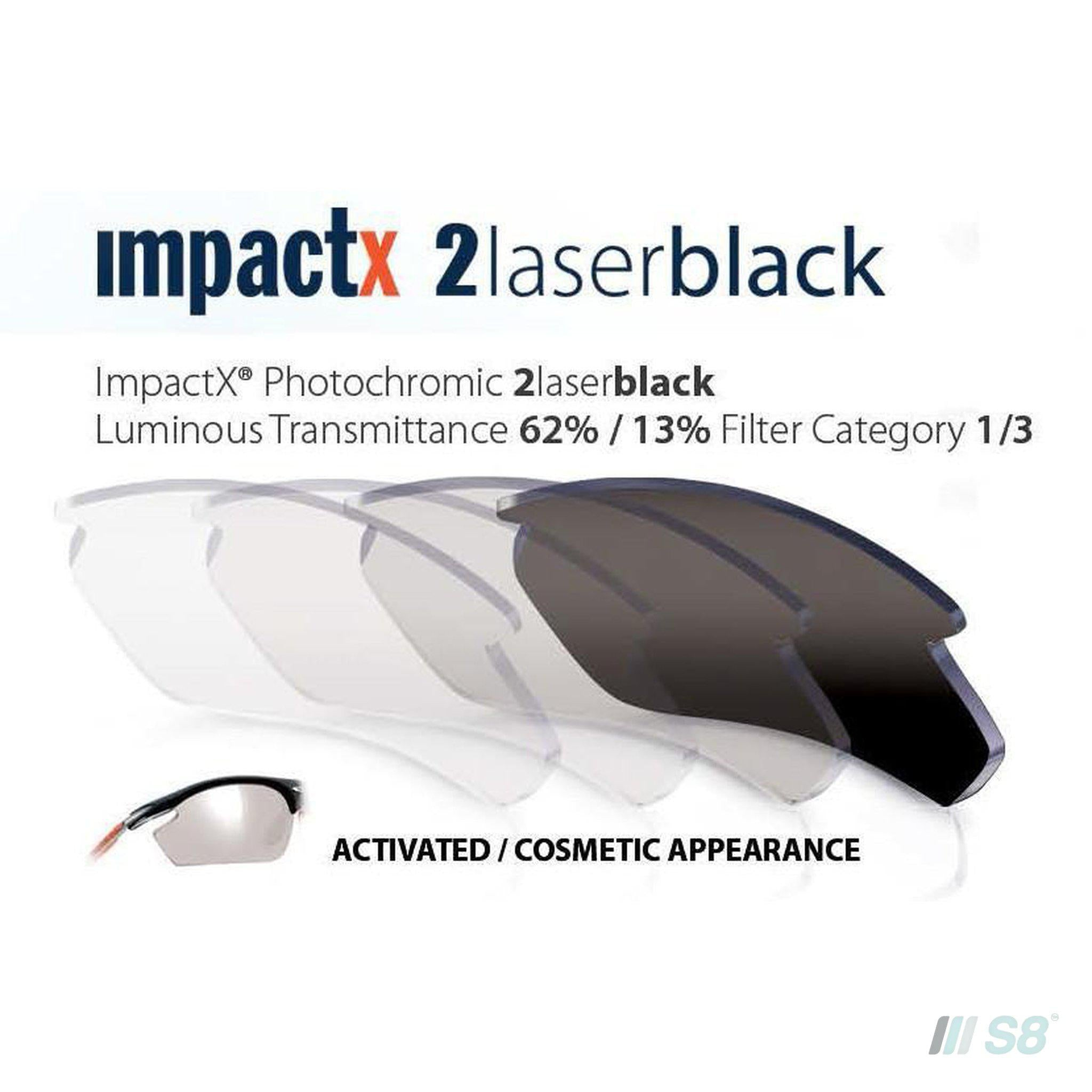 Rudy Project - Tralyx Sunglasses / Ice Graphite Matte / Impactx 2 Photochromic Laser Black lenses-Rudy Project-S8 Products Group