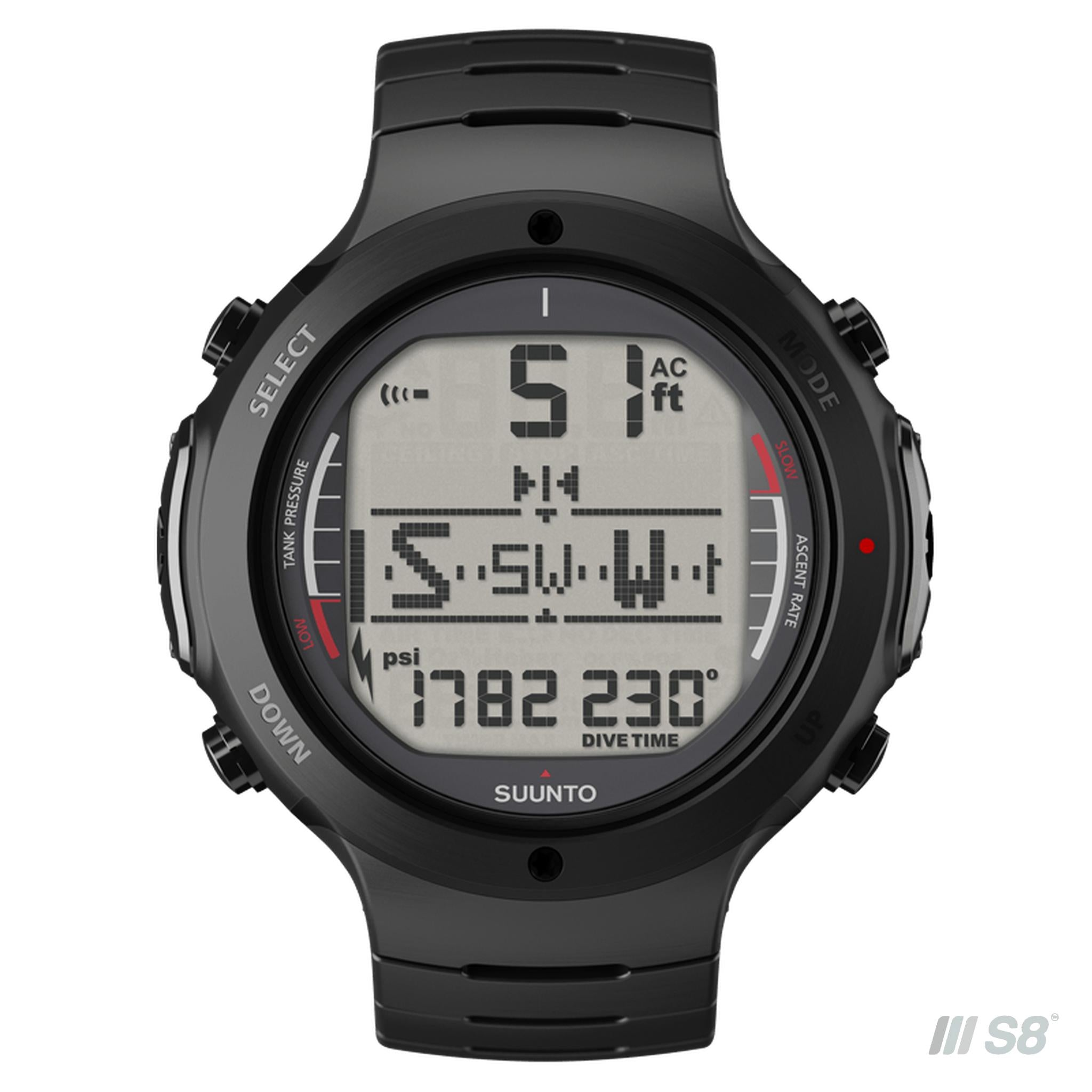 Suunto D6M Elastomer - Dive Computer Watch-Suunto-S8 Products Group