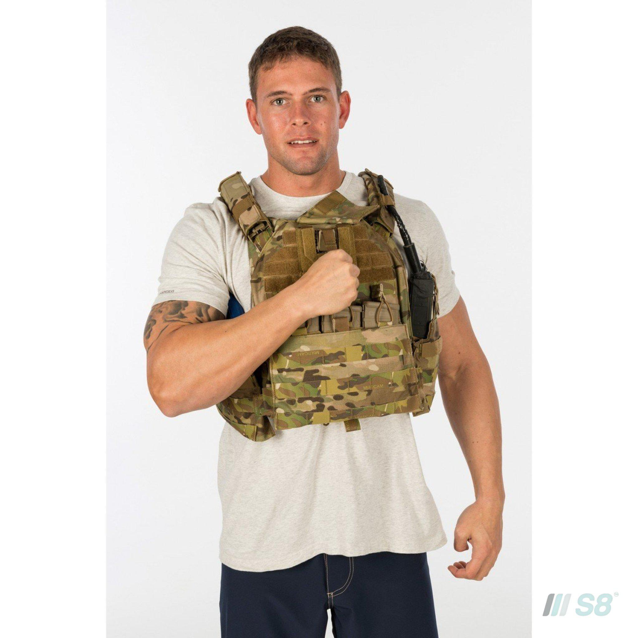 T3 Geronimo 2 Plate Carrier with Quad Release System-T3-S8 Products Group