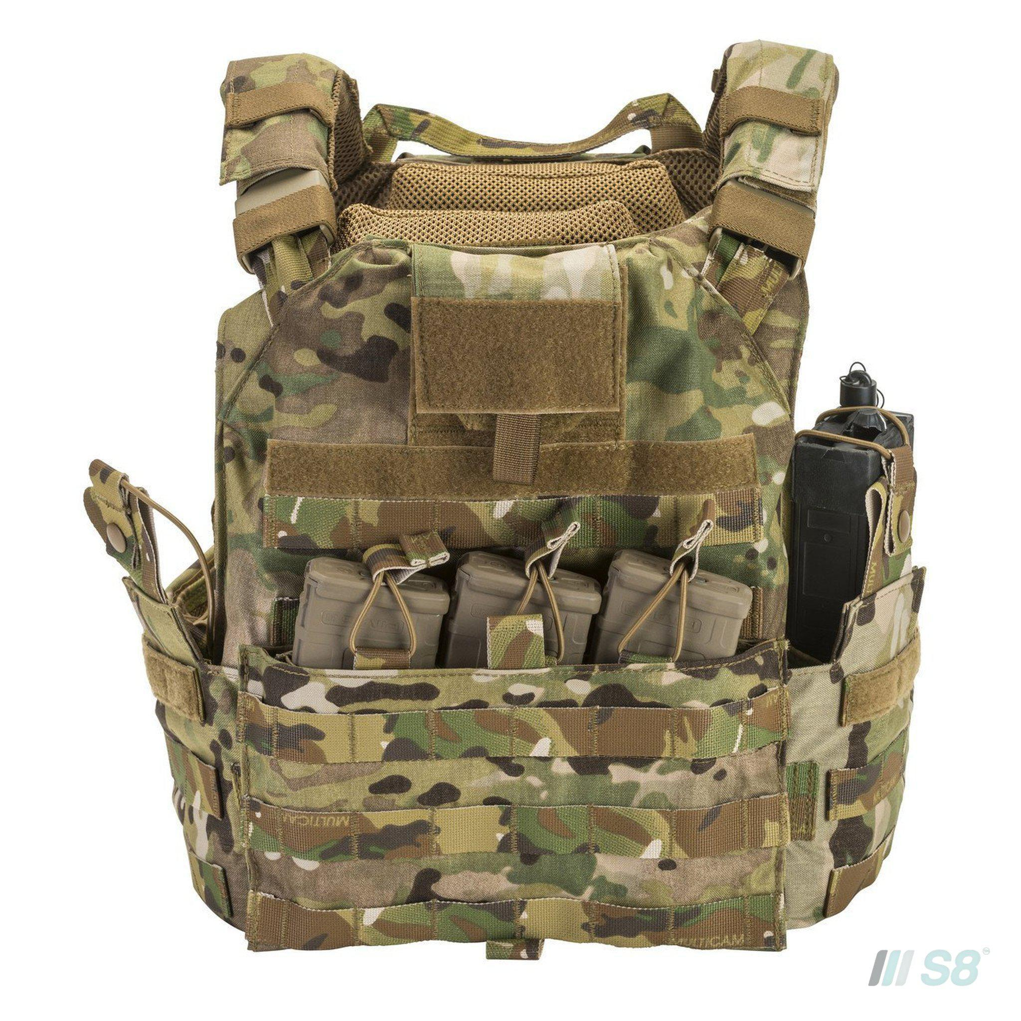 T3 Geronimo Fully Loaded Plate Carrier-T3-S8 Products Group